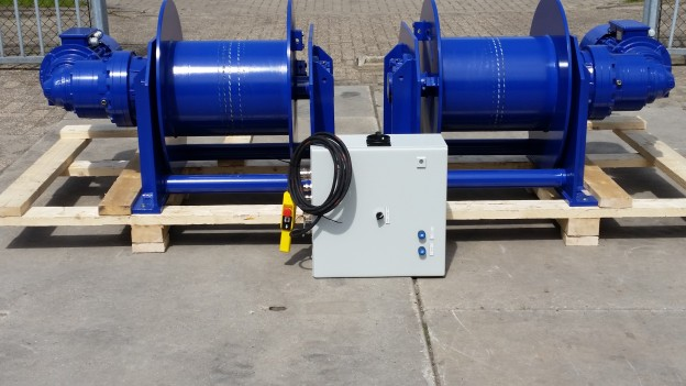 Delivery of 2 Electric Planetary Winches